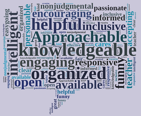Student Comments Word Cloud