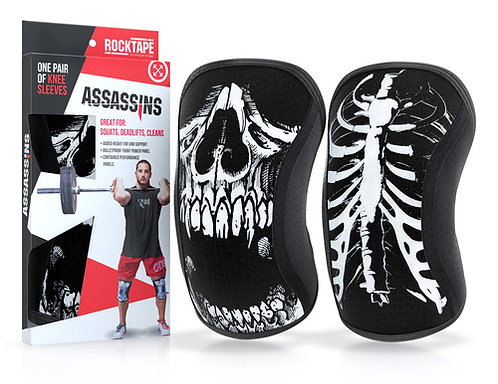 Assassin's Knee Sleeves - Knee support & Protection