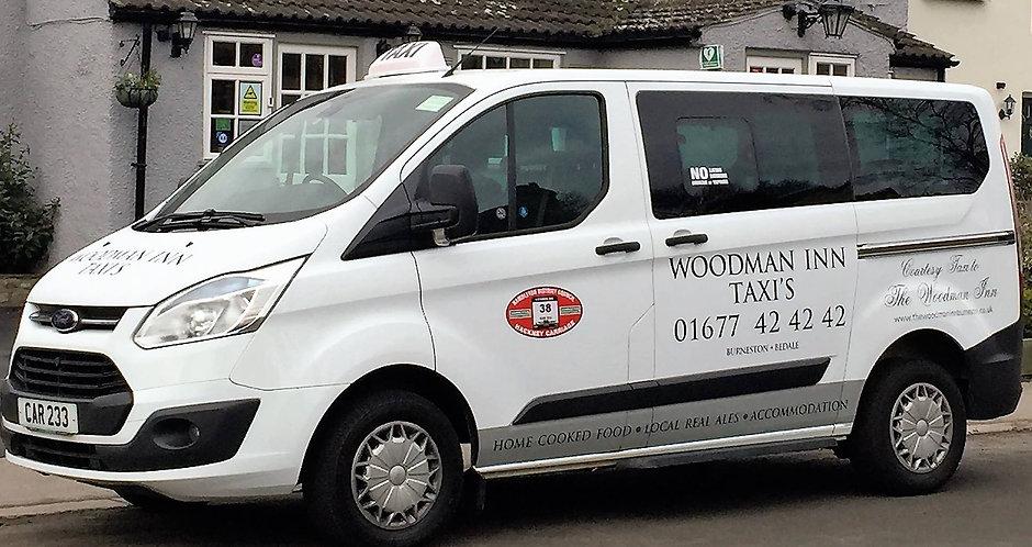 Woodman inn,taxi