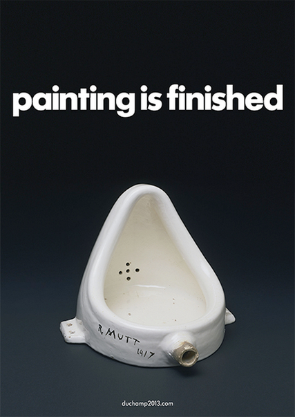 The Barbican Dancing Around Duchamp Campaign