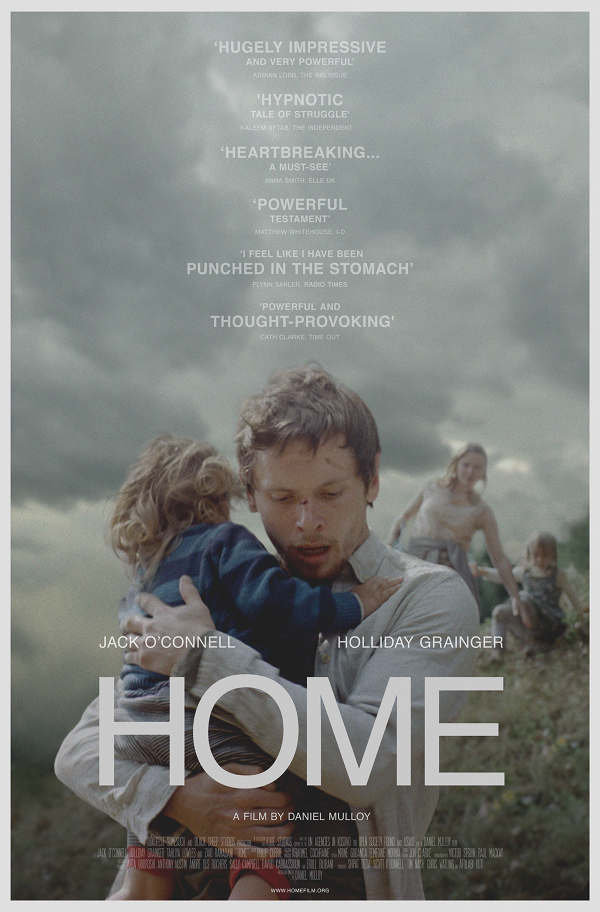 Daniel Mulloy HOME Film Poster, Jack O'Connell, Holliday Grainger