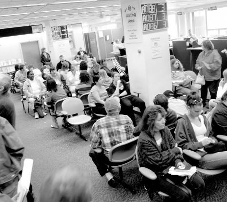 How Government Waiting Rooms Can Drive Anyone to Insanity
