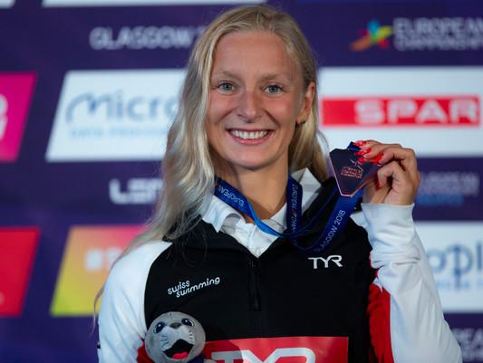 Championnat d'Europe grand bain Glasgow 2018