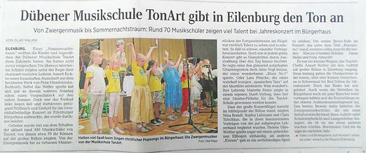 Musikschule Tonart Leipzig LVZ