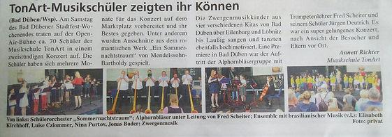 LVZ Musikschule TonArt