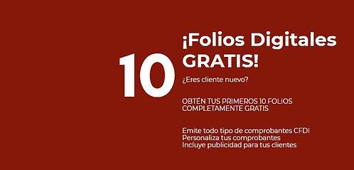 10 Folios Gratis