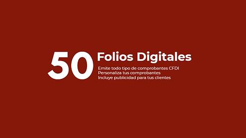 Paquete 50 Folios