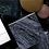 Thumbnail: Matisse Side Table - Black Wood Vein