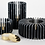 Thumbnail: Black Marquina Marble Orion Candle Holder - Tall
