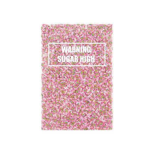 Warning Sugar High - Hubba Bubba