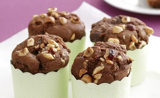 Chocolate and Nuts Muffin