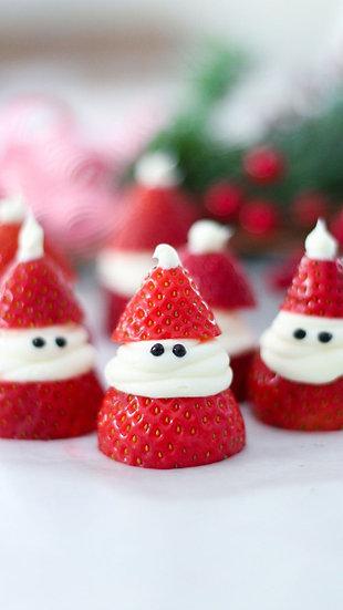 Mini Strawberry Santa