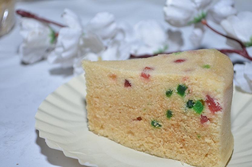 Vanilla Tutti-Frutti Tea Cake