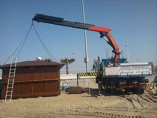 Transportes mercancias Gruas Fernandez alquiler Chiclana