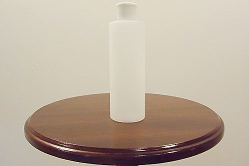 Plastic 8 oz Cylinder Bottles