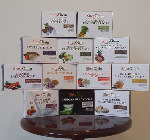 Shea Olein Soap Collection  Pick 4