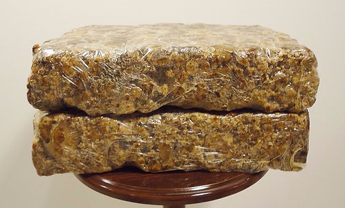 African Raw Black Soap From Ghana.