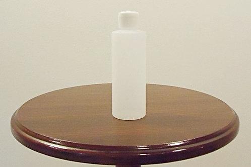 Plastic 4 oz Cylinder Bottles