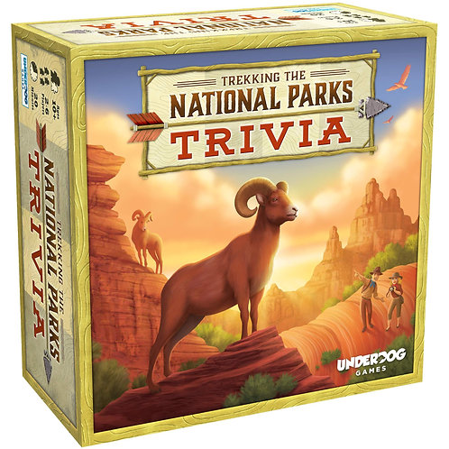 Trekking the National Parks - Trivia Game