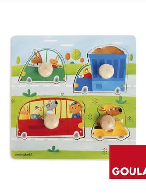 Fahrzeuge Holzpuzzle