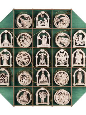 Behang gemischt Bogen, Kreis, Glocke, Stern