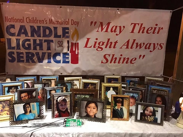 National Children's Memorial Day Candle Light Service