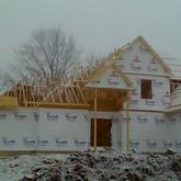 Framing in Progress Paragon Estates