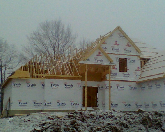 Framing in Progress Paragon Estates
