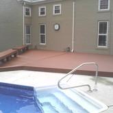 Menards Rustic Composite Deck