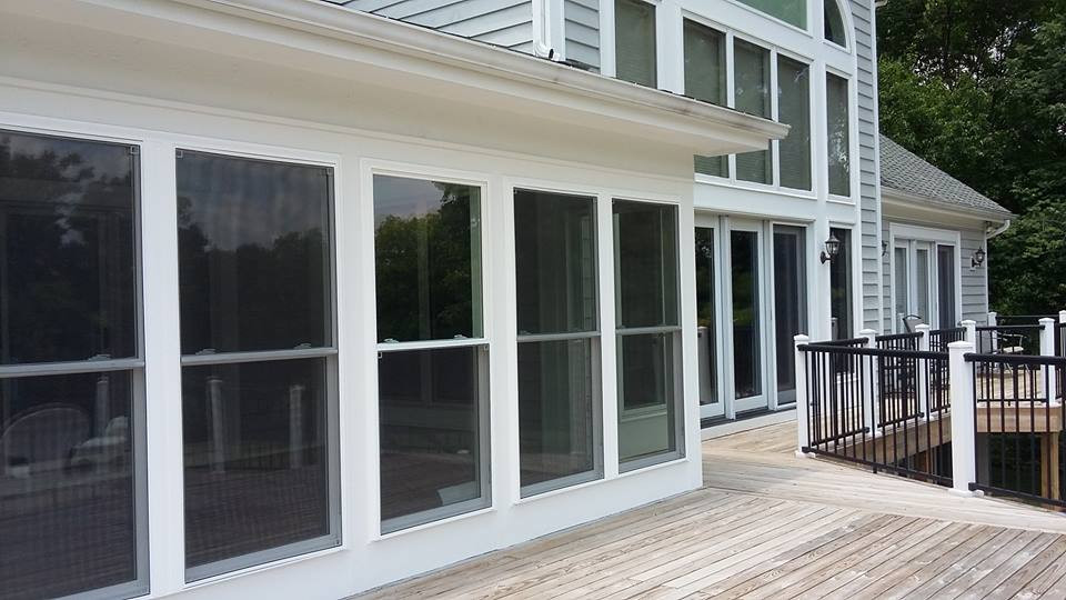 Exterior View Pella Removable Windows