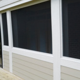 View from main Deck  Smart board vertical & lap trim siding.