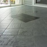 Florida Tile Diagonal Layout