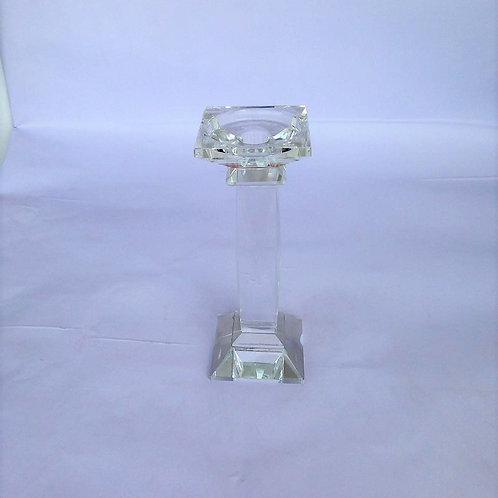 Candelabro transparente