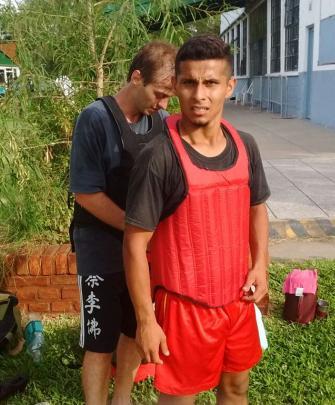 Cesar y Luciano