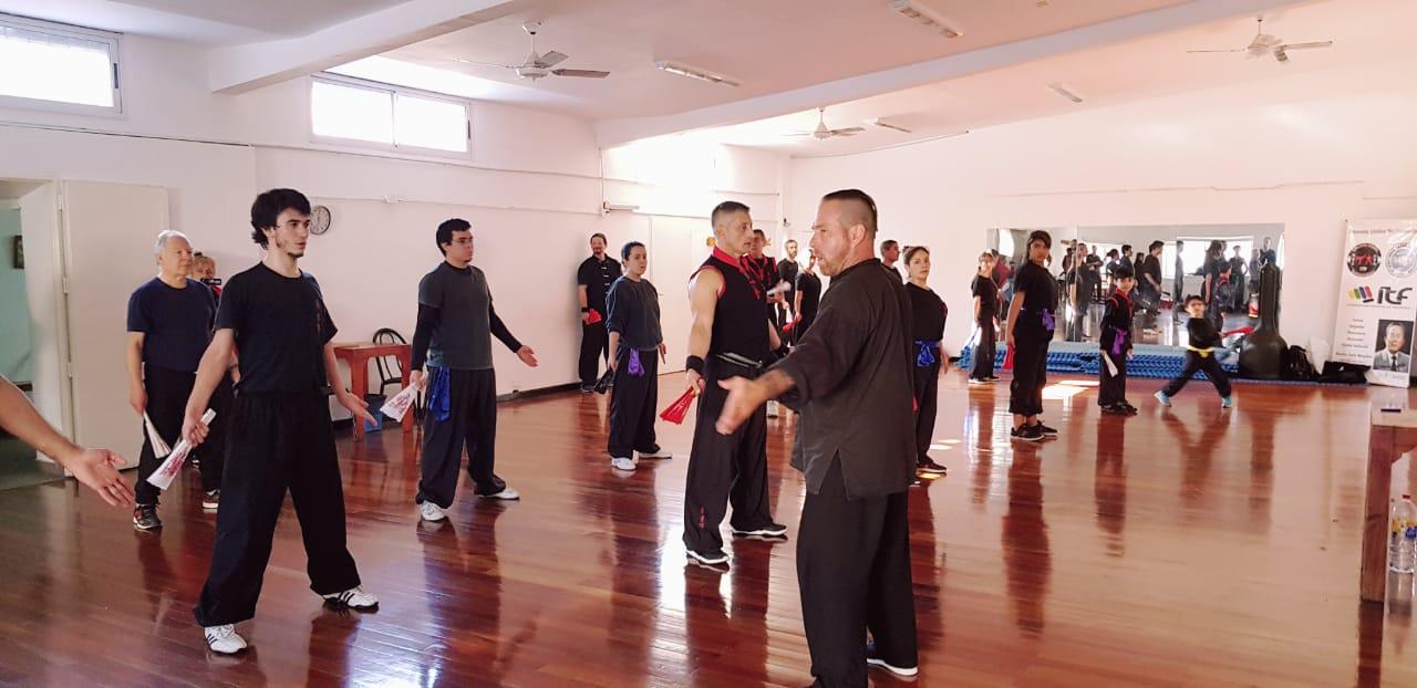 Seminario Shifu Thomas Fuhr kungfu