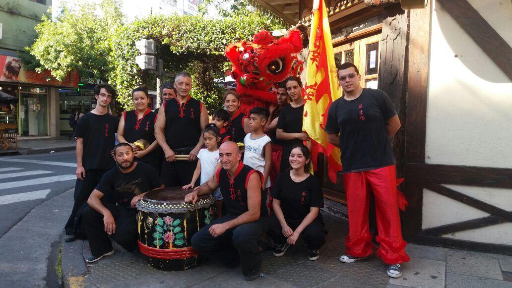 Lion Dance team