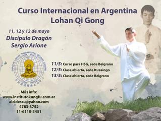 Curso Internacional Lohan Qi Gong