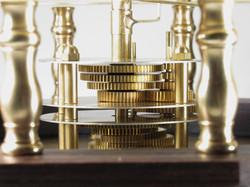 Brass Gear Close Up