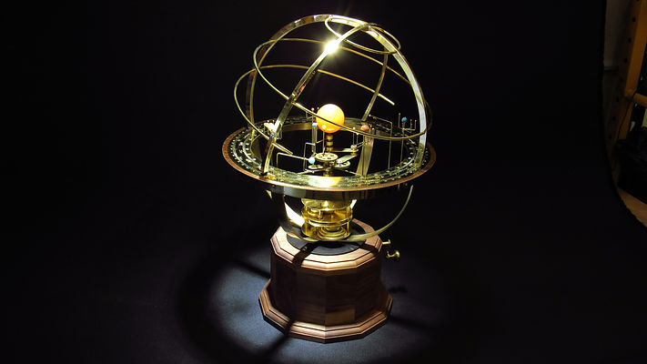 Orrery Moving Solar System Model Tower Orrery