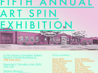 The Fifth Annual Art Spin Exhibition
