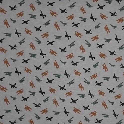 Aeroplane Print Dress