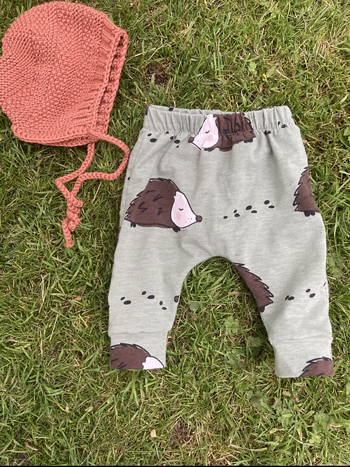 Organic Cotton Hedgehog Leggings