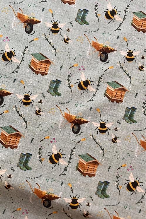 Bee Print Bib