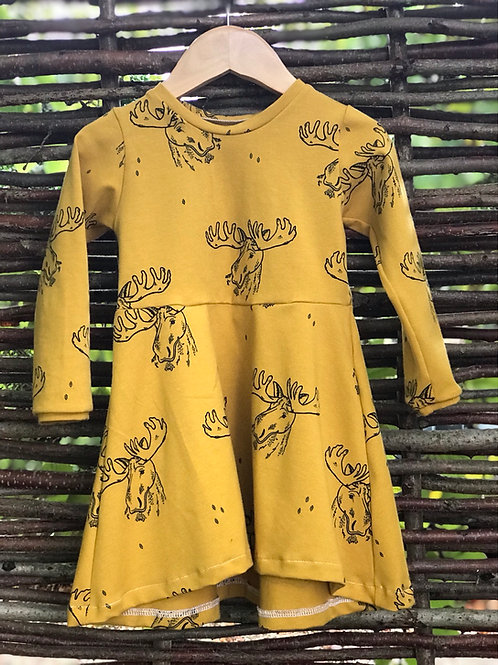 Malcolm The Moose Dress