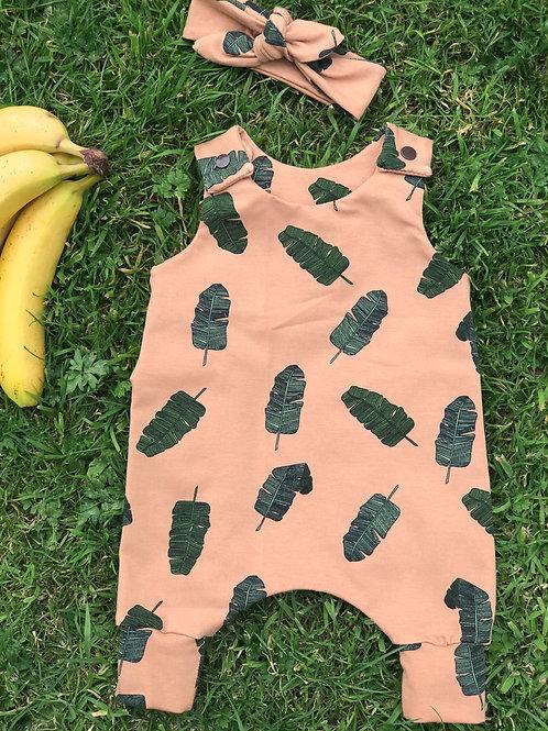 Banana Leaves Romper