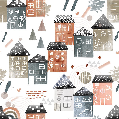 Scandi Houses Romper
