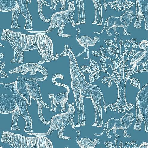 Exotic Animals Print Bib
