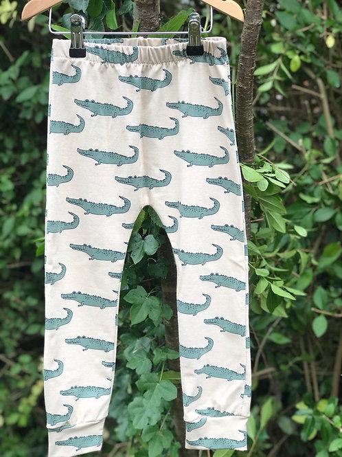 Crocodile Print Leggings