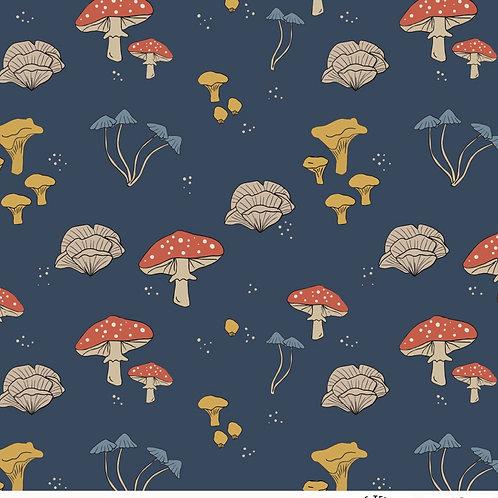 Mushroom Print Bib