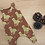 Thumbnail: Organic Sweatshirt Jersey Leopard Romper